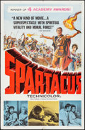 "Movie Posters:Action, Spartacus (Universal International, 1961). One Sheet (27"" X 41"")Academy Awards Style. Action.. ..."