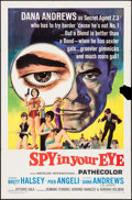 "Movie Posters:Adventure, Spy in Your Eye & Other Lot (American International, 1966). OneSheets (2) (27"" X 41""). Adventure.. ... (Total: 2 Items)"
