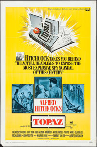 "Topaz & Other Lot (Universal, 1969). One Sheets (2) (27"" X 41""). Hitchcock. ... (Total: 2 Items)"