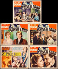 """Movie Posters:Drama, The Silver Cord (RKO, 1933). Title Lobby Card & Lobby Cards (4)(11"""" X 14""""). Drama.. ... (Total: 7 Items)"""