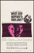 """Movie Posters:Horror, What Ever Happened to Baby Jane? (Warner Brothers, 1962). Window Card (14"""" X 22""""). Horror.. ..."""