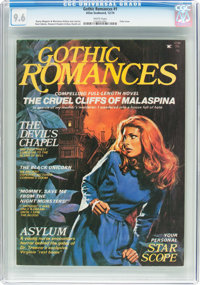 Gothic Romances #1 (Atlas-Seaboard, 1974) CGC NM+ 9.6 White pages