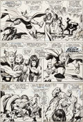 Original Comic Art:Panel Pages, Jack Kirby and Vince Colletta Thor #152 Story Page 9Original Art (Marvel, 1968)....