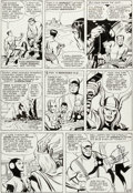 Original Comic Art:Panel Pages, Jack Kirby and Paul Reinman Avengers #3 Story Page 18Original Art (Marvel, 1964)....