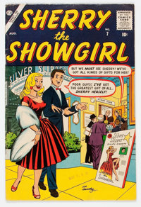 Sherry the Showgirl #7 (Atlas, 1957) Condition: FN/VF
