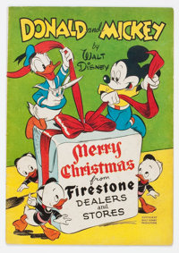 Donald and Mickey Merry Christmas #1947 (K. K. Publications, Inc., 1947) Condition: VG/FN