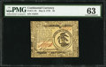 Colonial Notes:Massachusetts, Continental Currency May 9, 1776 $3 PMG Choice Uncirculated 63.....