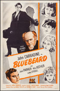 "Movie Posters:Crime, Bluebeard (PRC, 1944). One Sheet (27"" X 41""). Crime.. ..."