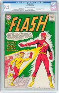 Silver Age (1956-1969):Superhero, The Flash #135 (DC, 1963) CGC NM- 9.2 Off-white to white pages....