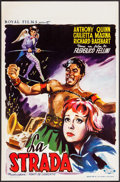 """Movie Posters:Foreign, La Strada (Royal Films, 1955). Belgian (14"""" X 21.25""""). Foreign.. ..."""