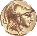 Ancients:Greek, Ancients: MACEDONIAN KINGDOM. Alexander III the Great (336-323 BC).AV stater (20mm, 8.61 gm, 5h). NGC MS ★ ...