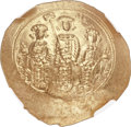 Ancients:Byzantine, Ancients: Romanus IV Diogenes (1068-1071), with Eudocia, MichaelVII, Constantius and Andronicus. AV histamenon nomisma (28mm, 4.44gm, ...