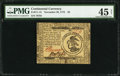 Colonial Notes:Continental Congress Issues, Continental Currency November 29, 1775 $3 PMG Choice Extremely Fine45 Net.. ...