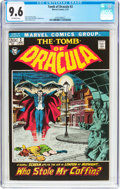 Bronze Age (1970-1979):Horror, Tomb of Dracula #2 (Marvel, 1972) CGC NM+ 9.6 Off-white pages....