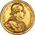 Italy:Papal States, Italy: Papal States. Pius VI gold Medal 1791 Anno XVII AU -Cleaned,...