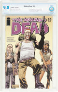 Modern Age (1980-Present):Horror, The Walking Dead #53 (Image, 2008) CBCS NM/MT 9.8 White pages....