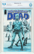 Modern Age (1980-Present):Horror, The Walking Dead #42 (Image, 2007) CBCS NM/MT 9.8 White pages....