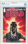 Modern Age (1980-Present):Horror, The Walking Dead #43 (Image, 2007) CBCS NM/MT 9.8 White pages....