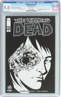 Modern Age (1980-Present):Horror, The Walking Dead #1 Wizard World Des Moines Sketch Edition (Image,2015) CGC NM/MT 9.8 White pages....