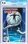 Modern Age (1980-Present):Superhero, Ultimate Spider-Man #1 (2002 reprint) (Marvel, 2002) CGC NM 9.4 White pages....