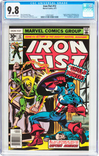 Iron Fist #12 (Marvel, 1977) CGC NM/MT 9.8 Off-white to white pages