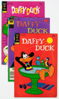 Bronze Age (1970-1979):Cartoon Character, Daffy Duck Group of 47 (Gold Key, 1973-83) Condition: AverageFN.... (Total: 47 Comic Books)