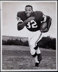 Football Collectibles:Photos, Vintage Jim Brown Wire Photograph....