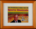 Basketball Collectibles:Others, John Wooden Signed & Framed 8x10 Photograph. ...