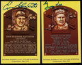 Autographs:Letters, Stars & HoFers Signed Collection of Postcards, Artwork, andIndex Cards. ...