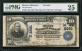 National Bank Notes:Missouri, Mexico, MO - $10 1902 Plain Back Fr. 624 The First NB Ch. #(M)2881. ...