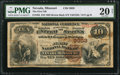 National Bank Notes:Missouri, Nevada, MO - $10 1882 Brown Back Fr. 483 The First NB Ch. # 3959....