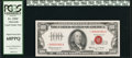 Small Size:Legal Tender Notes, Fr. 1550* $100 1966 Legal Tender Note. PCGS Superb Gem New 68PPQ.. ...