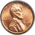 Lincoln Cents, 1955 1C Doubled Die Obverse, FS-101, MS64+ Red PCGS. CAC....