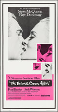 "Movie Posters:Crime, The Thomas Crown Affair (United Artists, 1968). Three Sheet (41"" X79""). Crime.. ..."