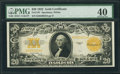Large Size:Gold Certificates, Fr. 1187 $20 1922 Gold Certificate PMG Extremely Fine 40.. ...