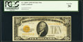 Small Size:Gold Certificates, Fr. 2400* $10 1928 Gold Certificate. PCGS Very Fine 30.. ...