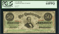 Confederate Notes:1863 Issues, T57 $50 1863 PF- 3 Cr. 408.. ...