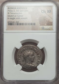 Ancients:Roman Provincial , Ancients: SYRIA. Antioch. Philip II as Caesar (AD 244-247). BItetradrachm. NGC Choice XF....