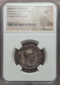 Ancients:Roman Provincial , Ancients: SYRIA. Antioch. Herennius Etruscus (AD 251). BItetradrachm. NGC XF....
