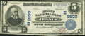 National Bank Notes:Pennsylvania, Jessup, PA - $5 1902 Plain Back Fr. 600 The First NB Ch. # (E)9600....