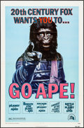"Movie Posters:Science Fiction, Go Ape! (20th Century Fox, 1974). One Sheet (27"" X 41""). ScienceFiction.. ..."