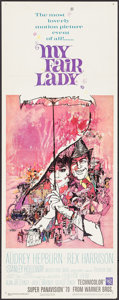 """Movie Posters:Musical, My Fair Lady (Warner Brothers, 1964). Insert (14"""" X 36""""). Musical.. ..."""
