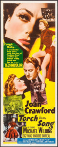 """Movie Posters:Romance, Torch Song (MGM, 1953). Insert (14"""" X 36""""). Romance.. ..."""