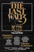 "Movie Posters:Rock and Roll, The Last Waltz (United Artists, 1978). Full-Bleed One Sheet (27"" X41""). Rock and Roll.. ..."