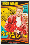 """Movie Posters:Drama, Rebel without a Cause (Warner Brothers, R-1960s). ArgentineanPoster (29"""" X 43""""). Drama.. ..."""