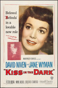 "Movie Posters:Comedy, A Kiss in the Dark (Warner Brothers, 1949). One Sheet (27"" X 41""). Comedy.. ..."