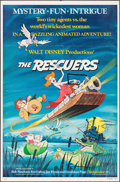 """Movie Posters:Animation, The Rescuers & Others Lot (Buena Vista, 1977). One Sheets (3) (27"""" X 41""""). Animation.. ... (Total: 3 Items)"""