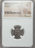 Ancients:Greek, Ancients: ACHAEMENID PERSIA. Xerxes II-Artaxerxes (400-350 BC). ARsiglos. NGC VF....