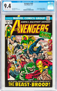 The Avengers #105 (Marvel, 1972) CGC NM 9.4 Off-white to white pages
