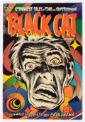 Golden Age (1938-1955):Horror, Black Cat Mystery #45 (Harvey, 1953) Condition: VG....